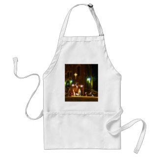 Outdoor nativity scene standard apron