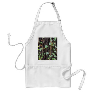 Outdoor Tree Bark With Green Ivy Standard Apron