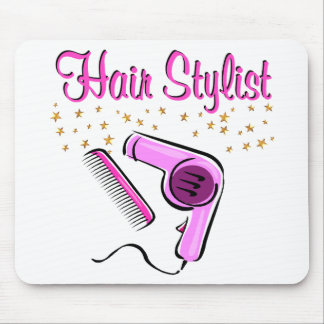 OUTSTANDING HAIR STYLIST AND BEAUTICIAN MOUSE PAD