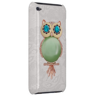 Owl Jewel & Paisley Lace iPod Touch Case