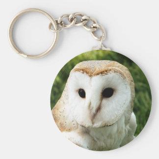 OWLS BASIC ROUND BUTTON KEY RING