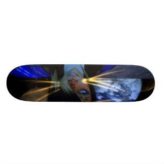Owner of Allley Gotter Graphics Big Skate Board Deck