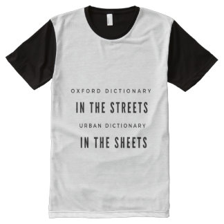 Oxford Dictionary in the STREET... All-Over Print T-Shirt