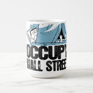 Oxygentees Occupy Wall Street Basic White Mug