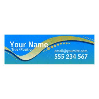 OZTRALiANA Skinny Profile Pack Of Skinny Business Cards