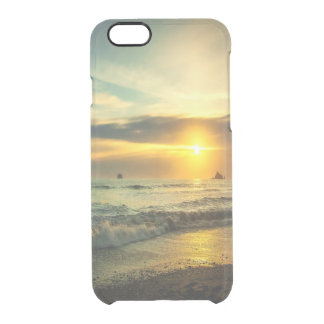 Pacific Coast Sunset Clear iPhone 6/6S Case