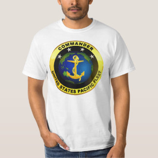 Pacific Fleet Commander T Shirts