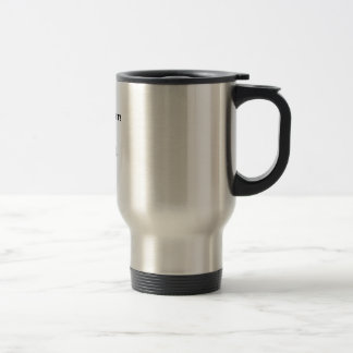 PADDLE FAST!  I HEAR A BANJO STAINLESS STEEL TRAVEL MUG