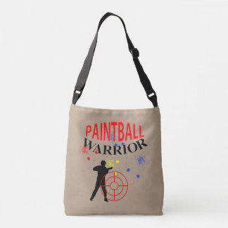 Paintball Warrior Themed Graphic Tote Bag