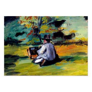 Painter at work impressionist art Paul Cezanne Pack Of Chubby Business Cards