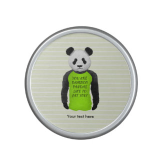 Panda Your Are Bamboo Pandas Like To Eat You Speaker