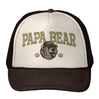 Papa Bear Gifts for Dad Cap