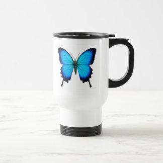 Papilio Ulysses Butterfly Travel Mug