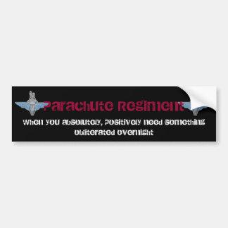 PARA-obliterated Bumper Sticker