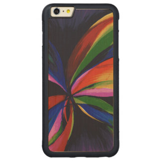 Paradise Colorful Abstract Orig Art iPhone 6+ Case