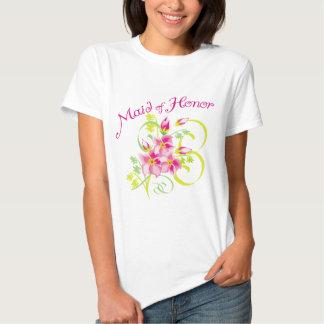 Paradise Maid of Honor Tee Shirt
