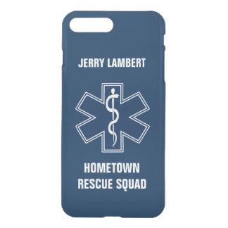 Paramedic EMT EMS Name Squad Template iPhone 7 Plus Case