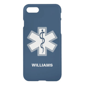 Paramedic EMT EMS Name Template iPhone 7 Case