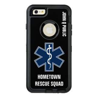 Paramedic EMT EMS Name template OtterBox iPhone 6/6s Plus Case