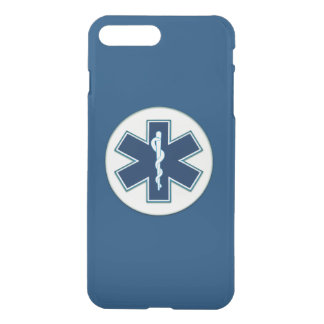 Paramedic EMT EMS Rod of Asclepius iPhone 7 Plus Case