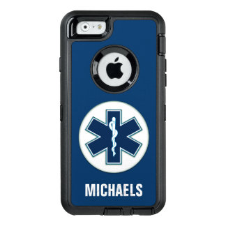 Paramedic EMT EMS with Name OtterBox iPhone 6/6s Case