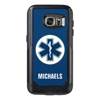 Paramedic EMT EMS with Name OtterBox Samsung Galaxy S7 Case