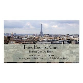Paris Business Card
