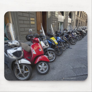 Parking is extremelly hard to find, Scooters are Mouse Pad