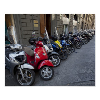 Parking is extremelly hard to find, Scooters are Poster