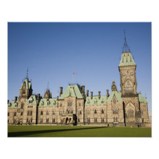 Parliment Building in Ottawa, Ontario, Canada Poster