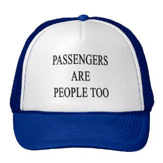 Passengers are People Travel Slogan Cap
