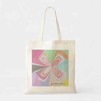 Pastel Colors Budget Tote Bag