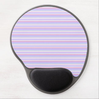 Pastel Easter Stripes Gel Mouse Pad