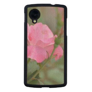 Pastel Pink Rose in Iraq Carved® Maple Nexus 5 Slim Case