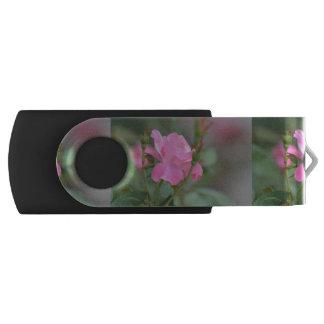 Pastel Pink Rose in Iraq Swivel USB 2.0 Flash Drive