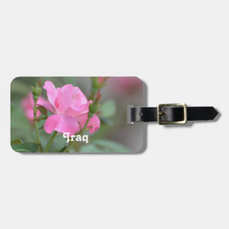 Pastel Pink Rose in Iraq Tags For Bags
