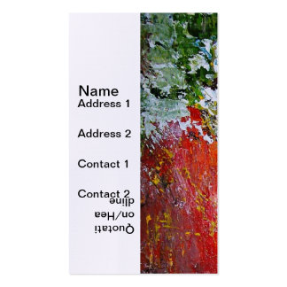 Pastels Pack Of Standard Business Cards