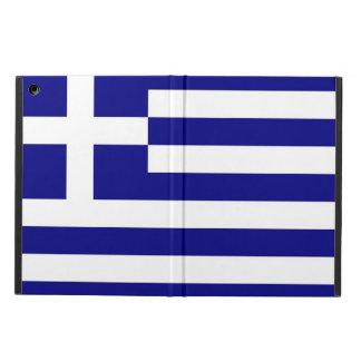 Patriotic ipad case with Flag of Greece