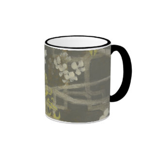 Patterned Blossom Branch I Ringer Mug