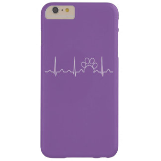 Paw Heartbeat Barely There iPhone 6 Plus Case
