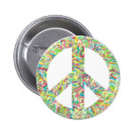 PEACE Gifts 6 Cm Round Badge