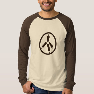 Peace of Chicken (brown) Tshirts