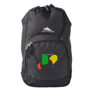 Peaceful Continents Backpack
