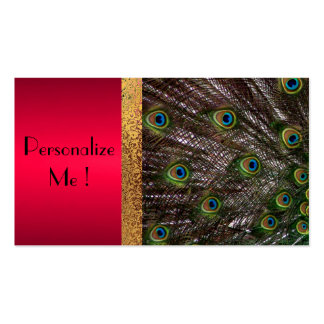 Peacock Elegant Modern Trendy / House-of-Grosch Pack Of Standard Business Cards