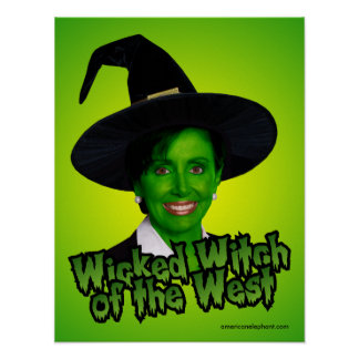 Pelsoi: Wicked Witch of the West Poster