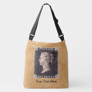 Penny Black Postage Stamp Tote Bag