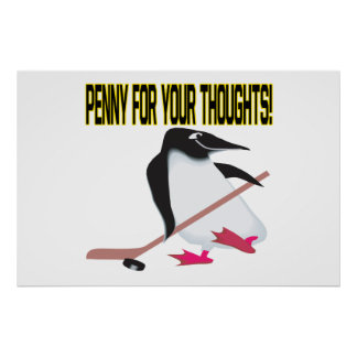 Penny For Your Thoughts Poster
