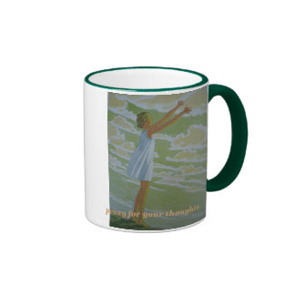 Penny for your Thoughts Ringer Mug