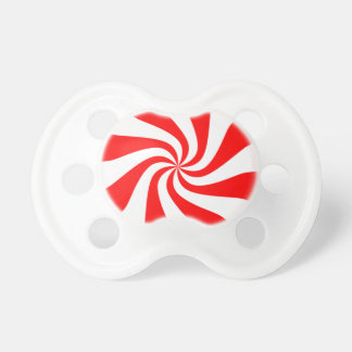 Peppermint Candy Baby Pacifiers