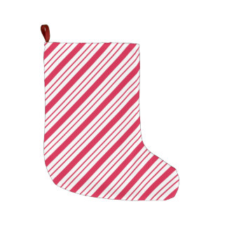 Peppermint Candy Cane Christmas Holiday Stocking